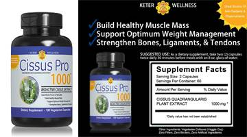 Cissus Pro 1000 Keter Wellness